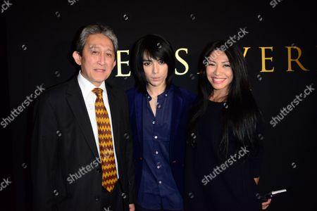 Rezlan Ishar Jenie, Ambassador of Indonesia in France, Tex Saverio and Anggun