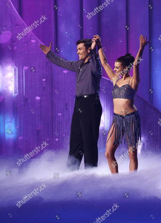 Sam Attwater and Vicky Ogden  Dancing On Ice, Elstree, Britain