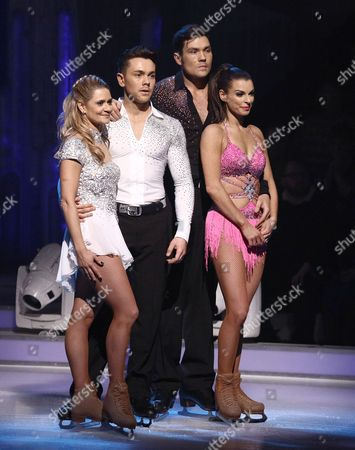 Ray Quinn and Maria Filippov, Sam Attwater and Vicky Ogden  Dancing On Ice, Elstree, Britain