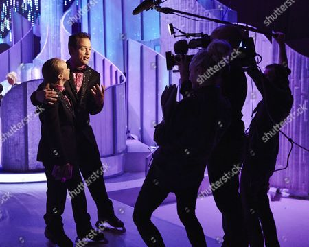 Editorial picture of 'Dancing on Ice' Behind the Scenes, TV Programme, Elstree - 23 Feb 2014
