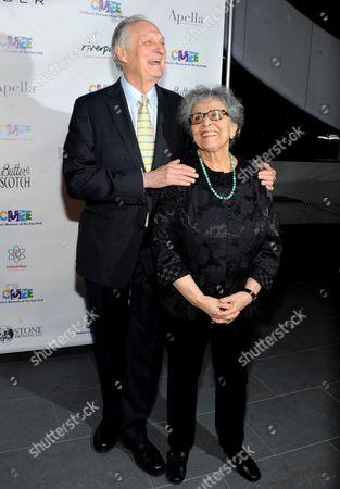 Alan Alda and Arlene Alda