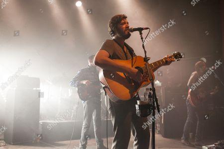 Stock Photo of Midlake perform at the O2 Shepherds Bush Empire