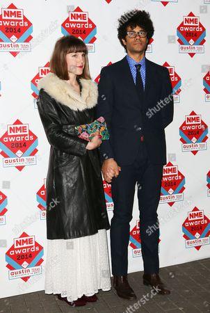 Lydia Fox and Richard Ayoade