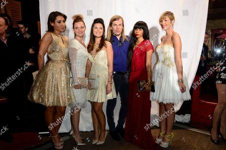 Josephine Jobert, Annabelle Milot, Flavie Pean, Christophe Guillarme, Mia Frye and Eleonore Boccara