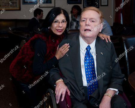 Larry Flynt and fifth wife, Elizabeth Berrios