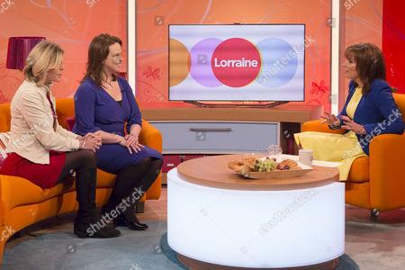 Editorial image of 'Lorraine Live' TV Programme, London, Britain - 27 Feb 2014