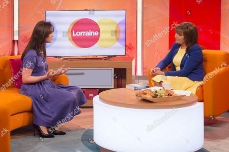 Sophie Kinsella and Lorraine Kelly