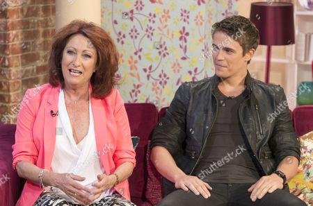 Lynne McGranger and Nic Westaway