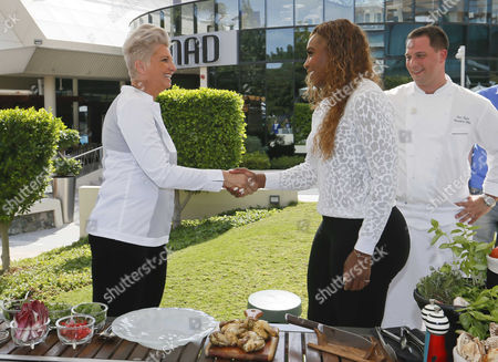Silvena Rowe, Serena Williams, Eric Vasta