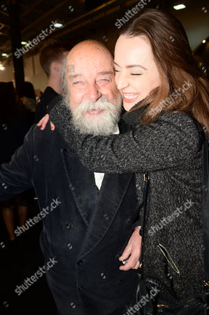 Sir Roy Ackerman with daughter