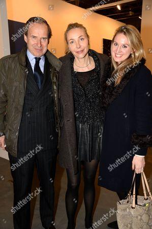 Simon de Pury, Michaela de Pury and guest