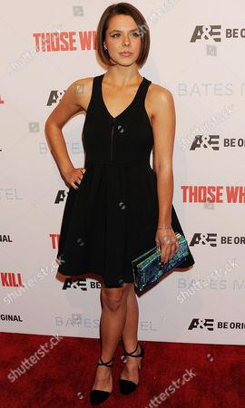 Editorial image of 'Bates Motel' and 'Those Who Kill' TV series premiere, Los Angeles, America - 26 Feb 2014