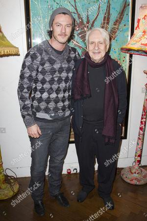 Luke Evans and Peter Gill