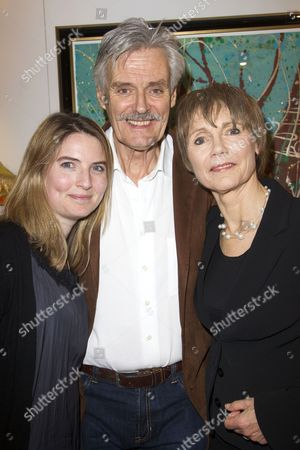 Amy Williams, Simon Williams and Lucy Fleming