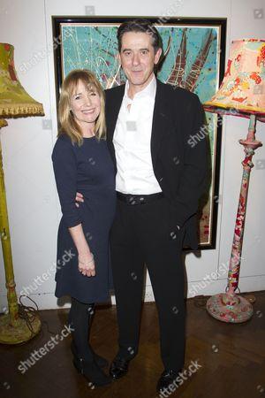 Caroline Langrishe and Adrian Lukis