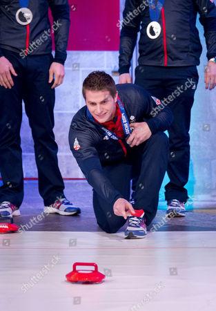 Men's Olympian Curling Team GB - David Murdoch, Greg Drummond, Scott Andrews and Michael Goodfellow
