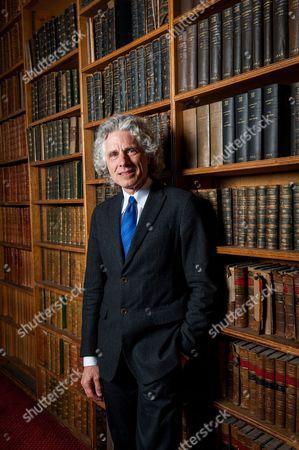 Editorial photo of Professor Steven Pinker at The Oxford Union, Britain - 27 Feb 2014