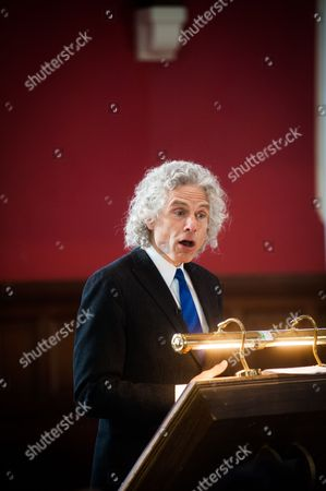 Stock Picture of Stephen Pinker