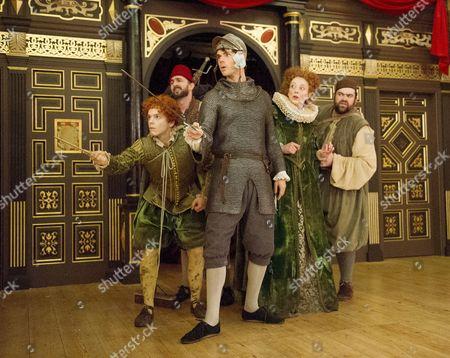 Giles Cooper as Michael;Dennis Herdman as Tim, Matthew Needham as Rafe, Hannah McPake as Mistress Merrythought, Dean Nolan as George