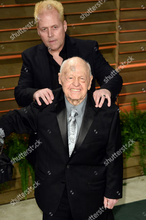 Mickey Rooney and son