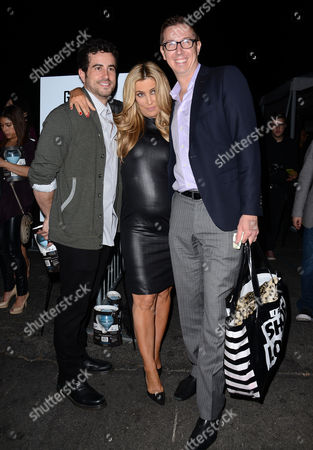 Stock Image of Jillian Barberie (C) and guests