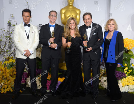 Matthew McConaughey, Chris Buck, Jennifer Lee, Peter Del Vecho and Kim Novak