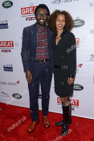 Tony Okungbowa and Lenore Thomas