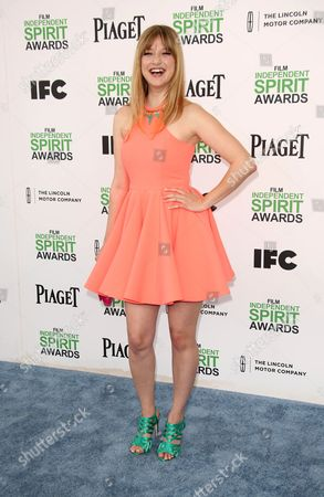 Editorial picture of 2014 Film Independent Spirit Awards, Los Angeles, America - 01 Mar 2014