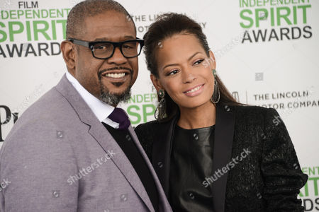 Stock Photo of Forest Whitaker and Keisha Whitaker