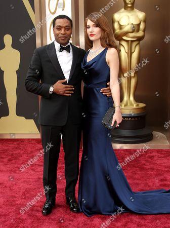 Chiwetel Ejiofor and Sari Mercer