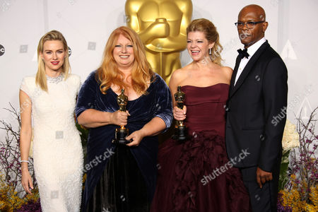 Stock Picture of Naomi Watts, Adruitha Lee, Robin Matthews and Samuel L. Jackson