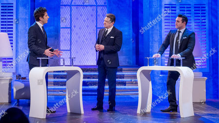 Andy Goldstein, Alan Titchmarsh and Antony Costa