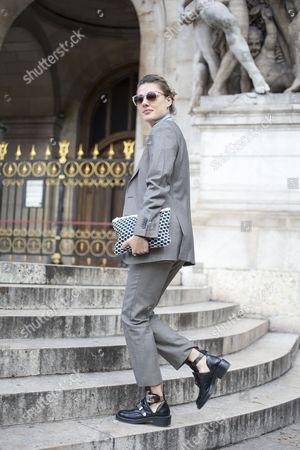 Natalie Hartley, fashion editor