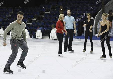 Editorial photo of 'Dancing on Ice' Training, TV Programme, Elstree, Britain - 03 Mar 2014