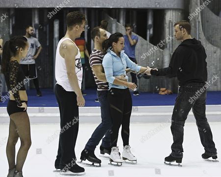 Editorial picture of 'Dancing on Ice' Training, TV Programme, Elstree, Britain - 03 Mar 2014