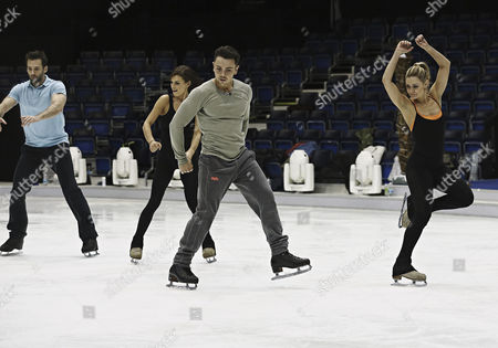 Editorial image of 'Dancing on Ice' Training, TV Programme, Elstree, Britain - 03 Mar 2014