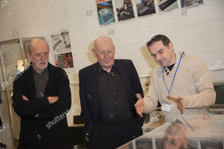 Iain Sinclair, Sir Clive Sinclair and Jason Fitzpatric