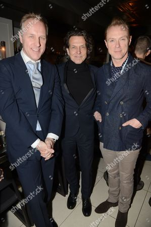Simon Mills, Stephen Webster and Gary Kemp