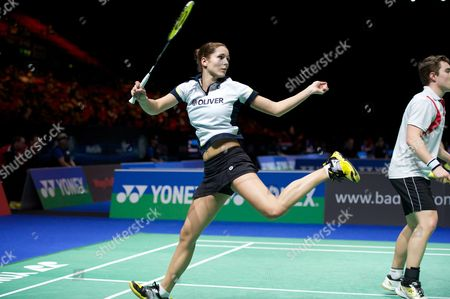 Editorial photo of Yonex All England Open Badminton Championships 2014, Day 1, Birmingham National Indoor Arena, Birmingham, Britain - 04 Mar 2014