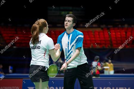 Stock Picture of Lauren Smith and Matthew Nottingham in action on Day One