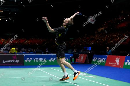 Editorial image of Yonex All England Open Badminton Championships 2014, Day 1, Birmingham National Indoor Arena, Birmingham, Britain - 04 Mar 2014