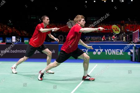 Marcus Ellis and Tom Wolfenden in action on Day One