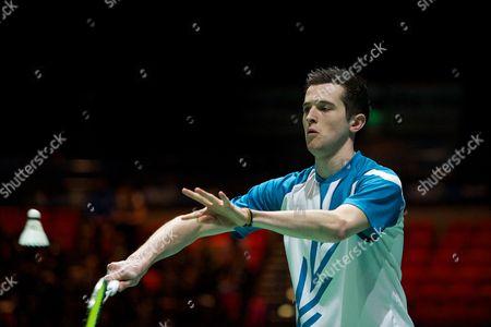 Editorial image of Yonex All England Open Badminton Championships 2014, Day 1, Birmingham National Indoor Arena, Birmingham, Britain - 04 Mar 2014