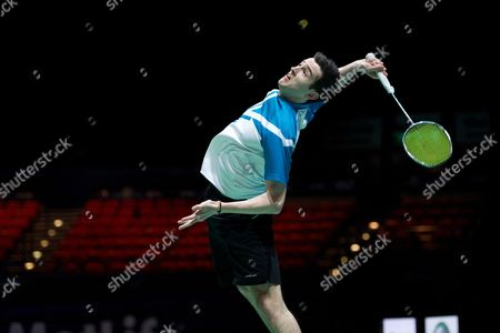 Editorial picture of Yonex All England Open Badminton Championships 2014, Day 1, Birmingham National Indoor Arena, Birmingham, Britain - 04 Mar 2014