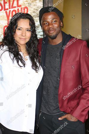 Derek Luke and Sophia Adella Luke