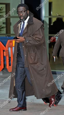 Editorial photo of Nhs Commissioning Board Meeting At Piccadily Place Central Manchester.- Lord Victor Adebowale - Non-executive Director Leaves The Meeting.
