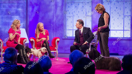 Alan Titchmarsh, The Barking Blondes - Anna Webb and Jo Good