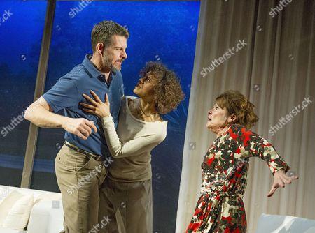 Lloyd Owen as Mike,  Angel Coulby as Kate, Imelda Staunton as Margaret