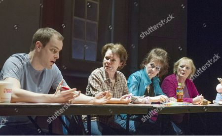 Matthew Barker as Stevie, Imelda Staunton as Margaret, Lorraine Ashbourne as Jean, June Watson as Dottie