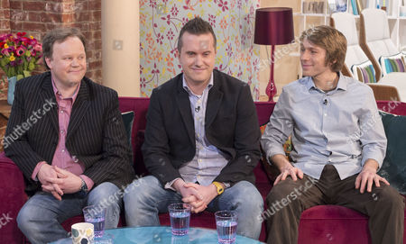 Justin Fletcher, Phil Gallagher and Ben Faulks